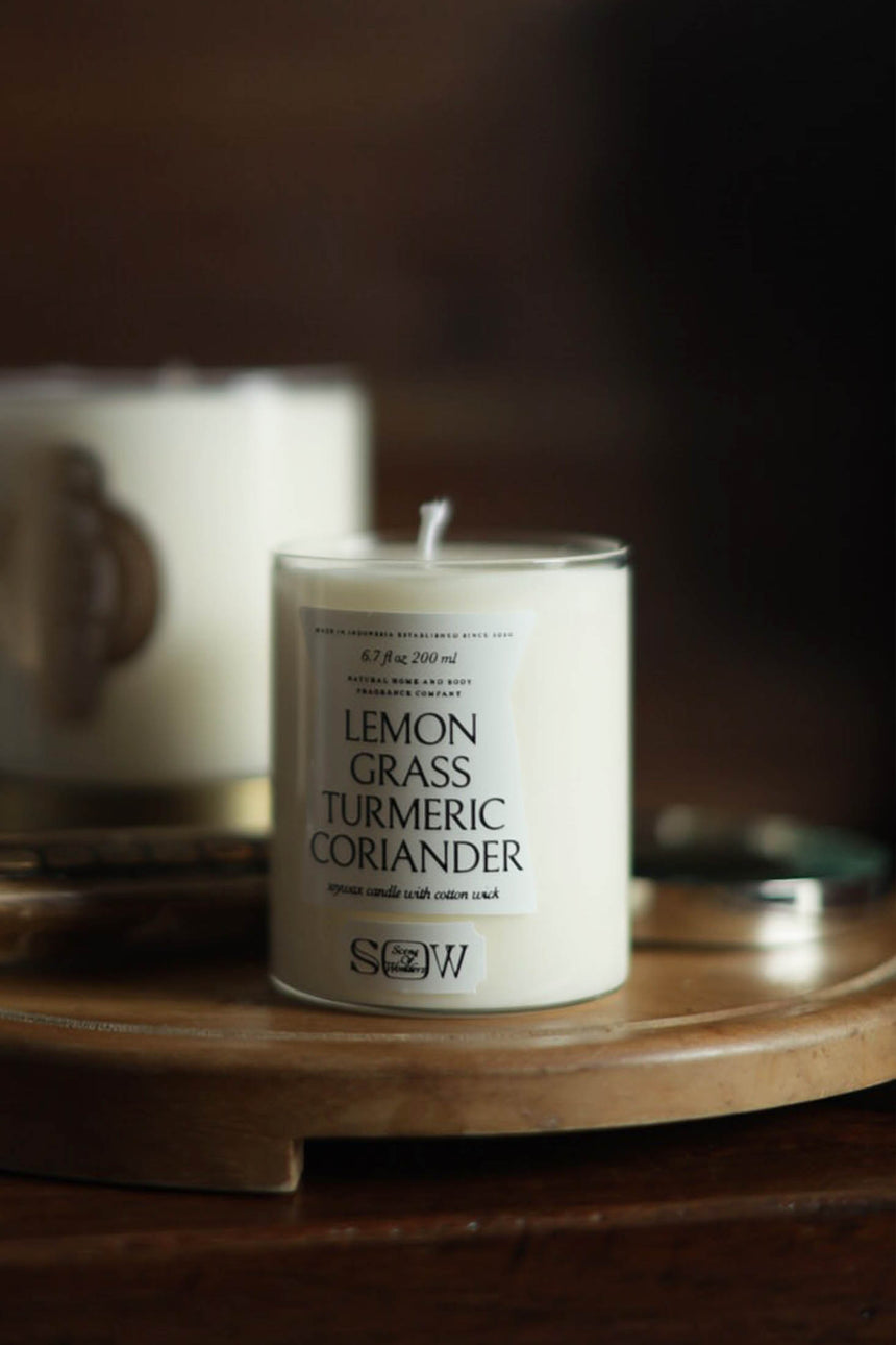 Lemongrass Turmeric Coriander Candle 200ML