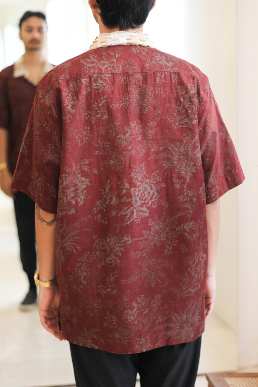 Jaipur Pure Silk Lounge Shirt