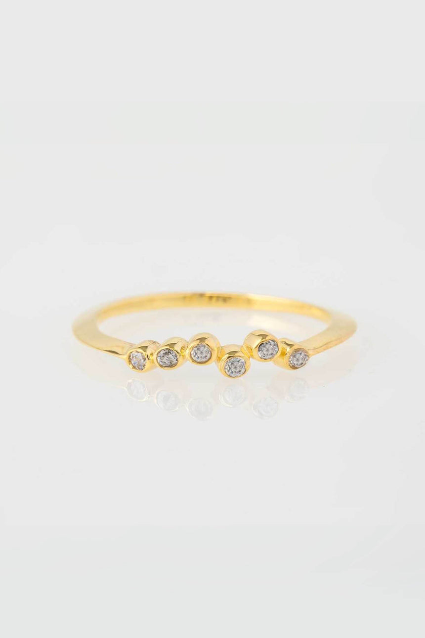 Coral Ring in Gold