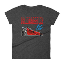 Load image into Gallery viewer, Jr. Dragster Life Graphic Logo Women's T-shirt