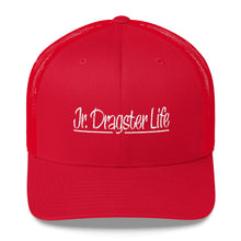 Load image into Gallery viewer, Jr. Dragster Life Logo Trucker Cap
