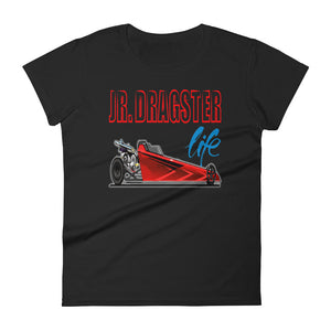 Jr. Dragster Life Graphic Logo Women's T-shirt