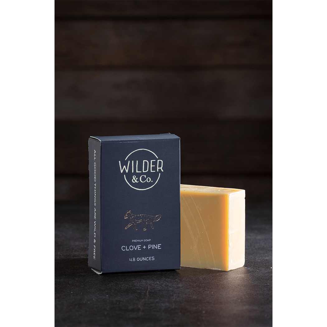 Clove + Pine Premium Soap Bar - Fisher Couture.com