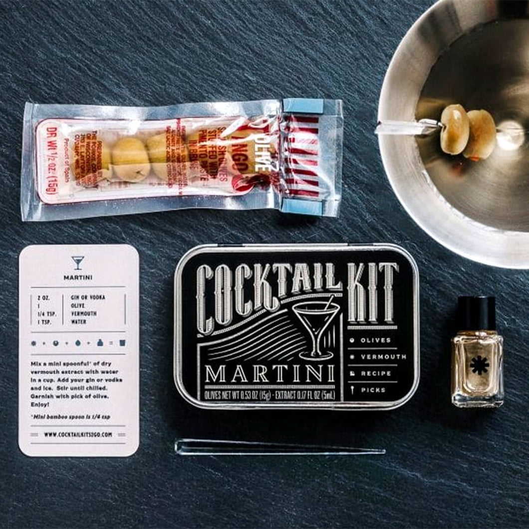 Martini Cocktail Kit - Fisher Couture.com