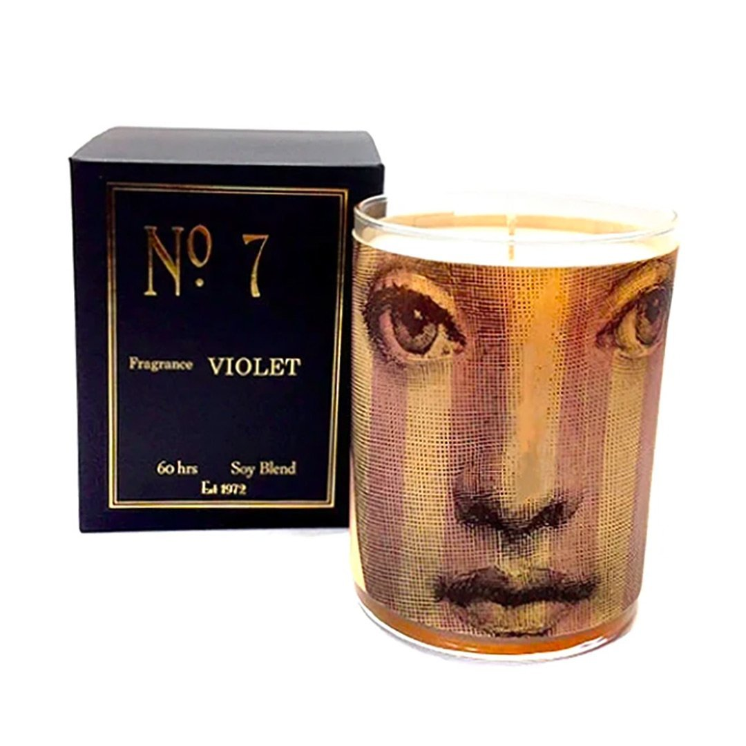 No 7 Violet Candle - Fisher Couture.com