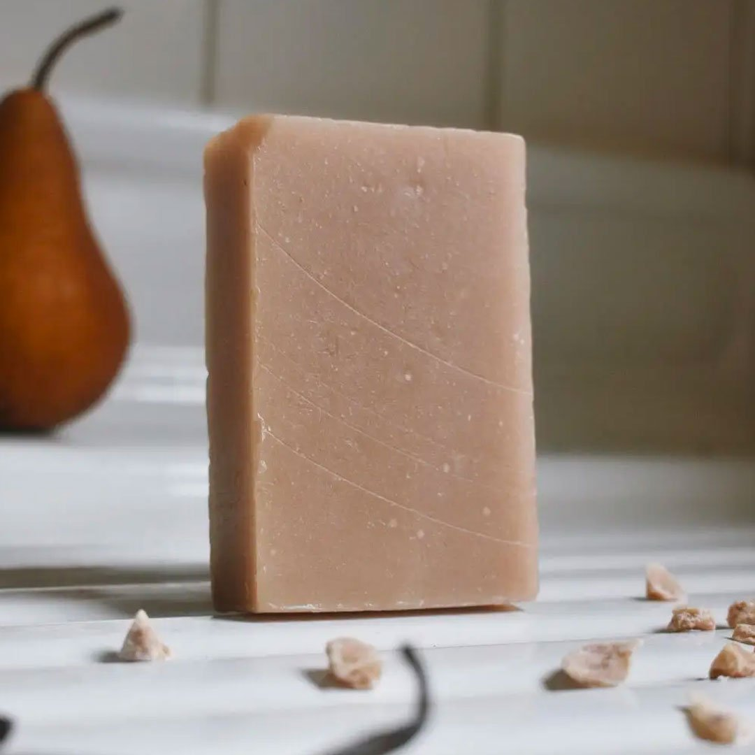 Pear + Vanilla Premium Bar Soap - Fisher Couture.com