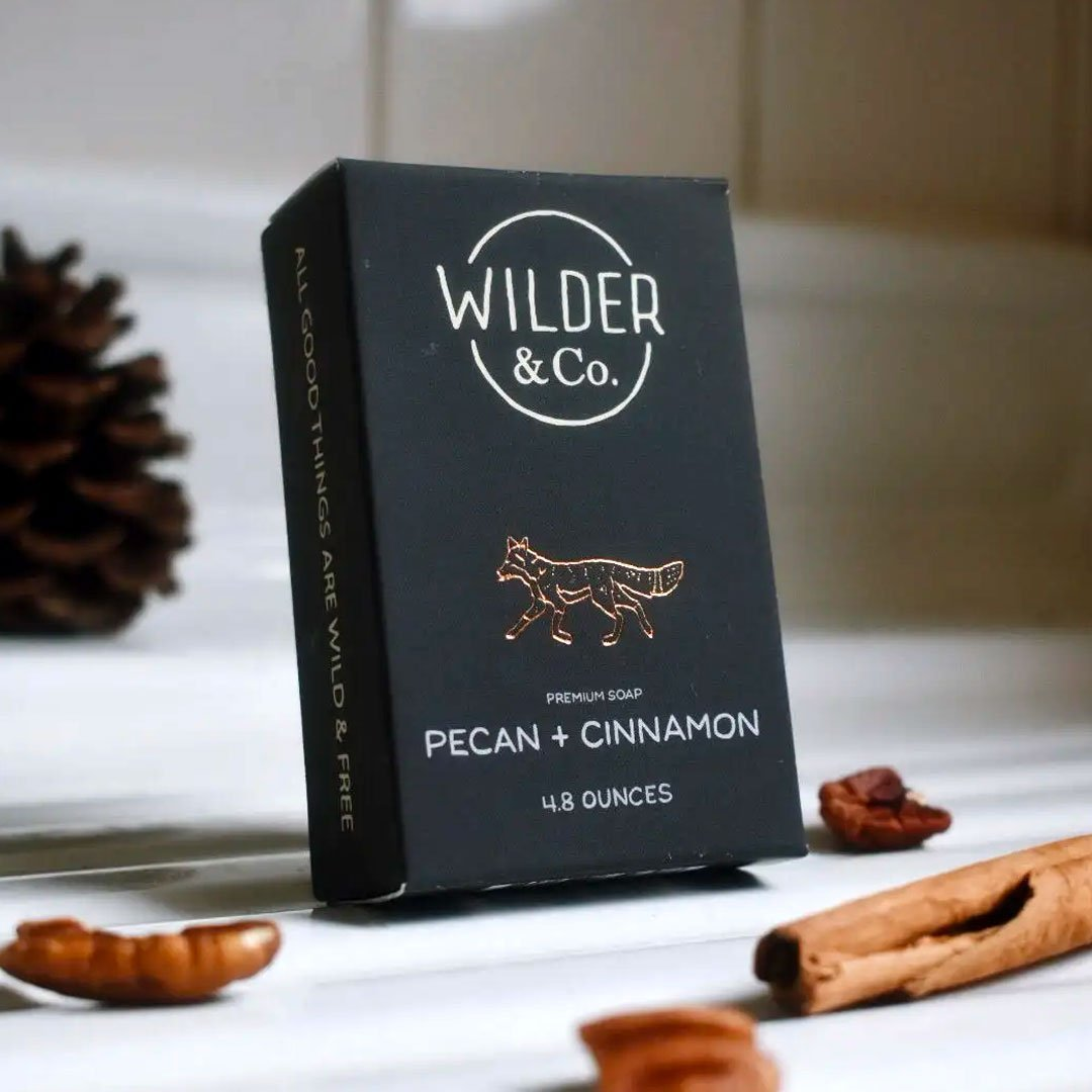 Pecan + Cinnamon Premium Soap Bar - Fisher Couture.com