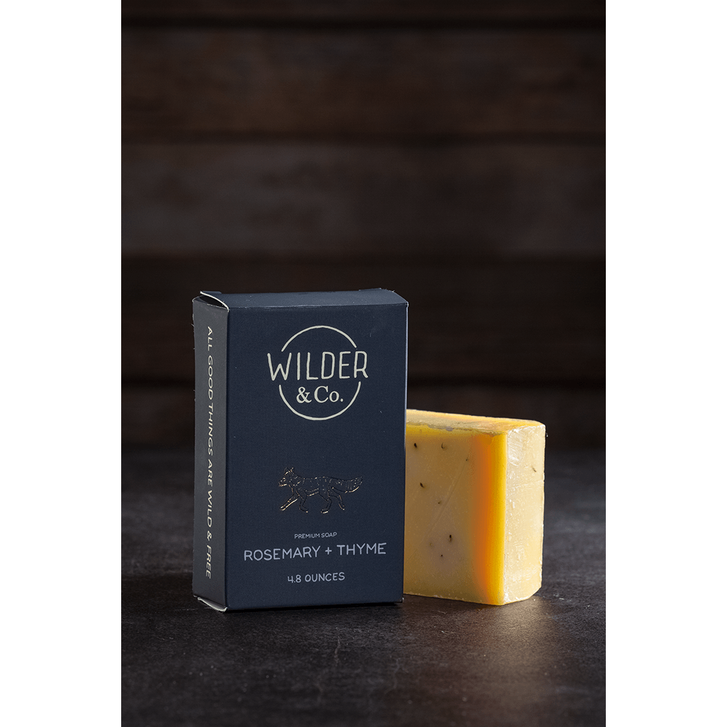Rosemary + Thyme Premium Bar Soap - Fisher Couture.com