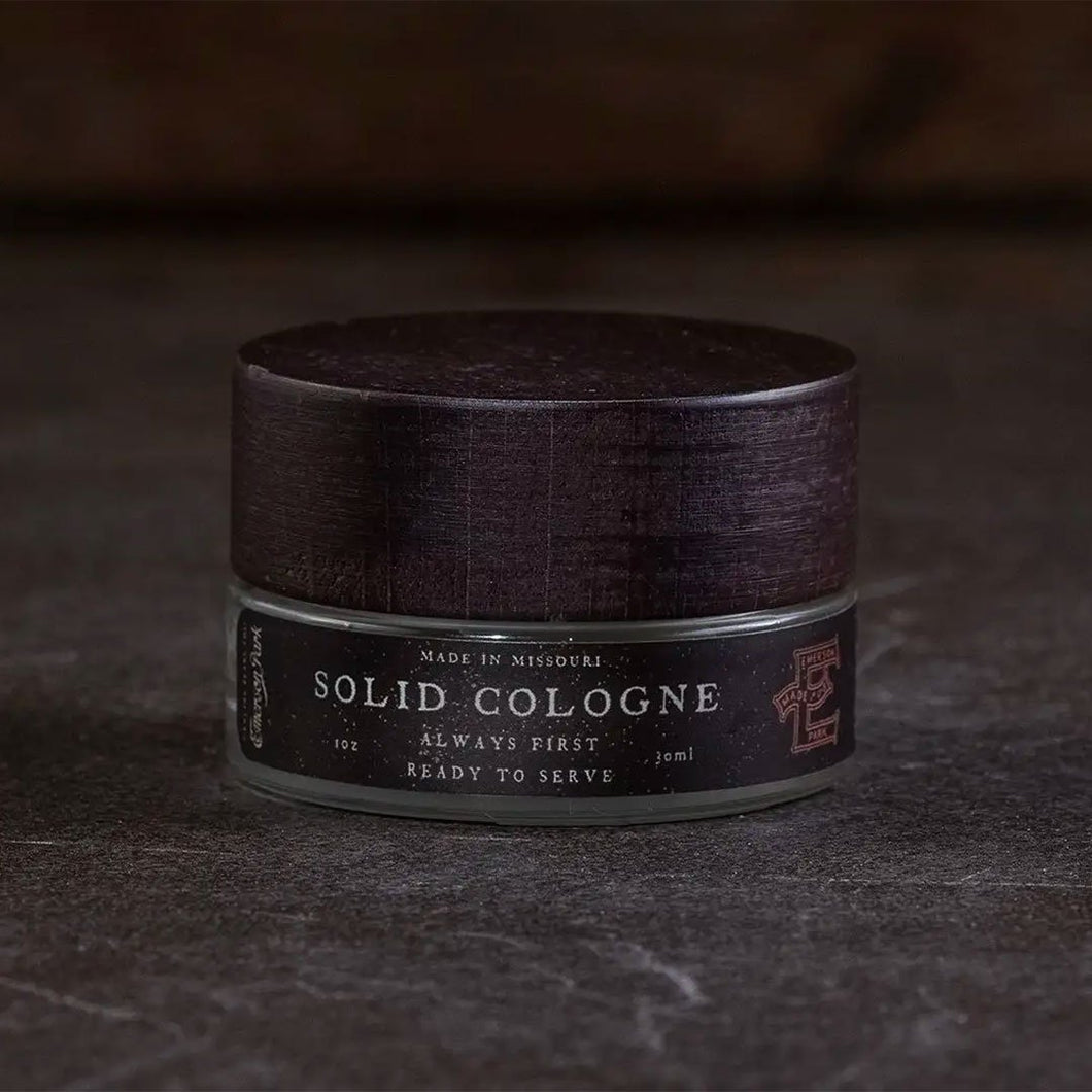 Solid Cologne Black Label - Fisher Couture.com