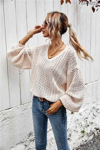 Spring Sweater in Apricot - Fisher Couture.com