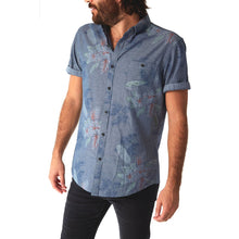 Load image into Gallery viewer, fisher-couture-com-PX-Rex Chambray Print Shirt