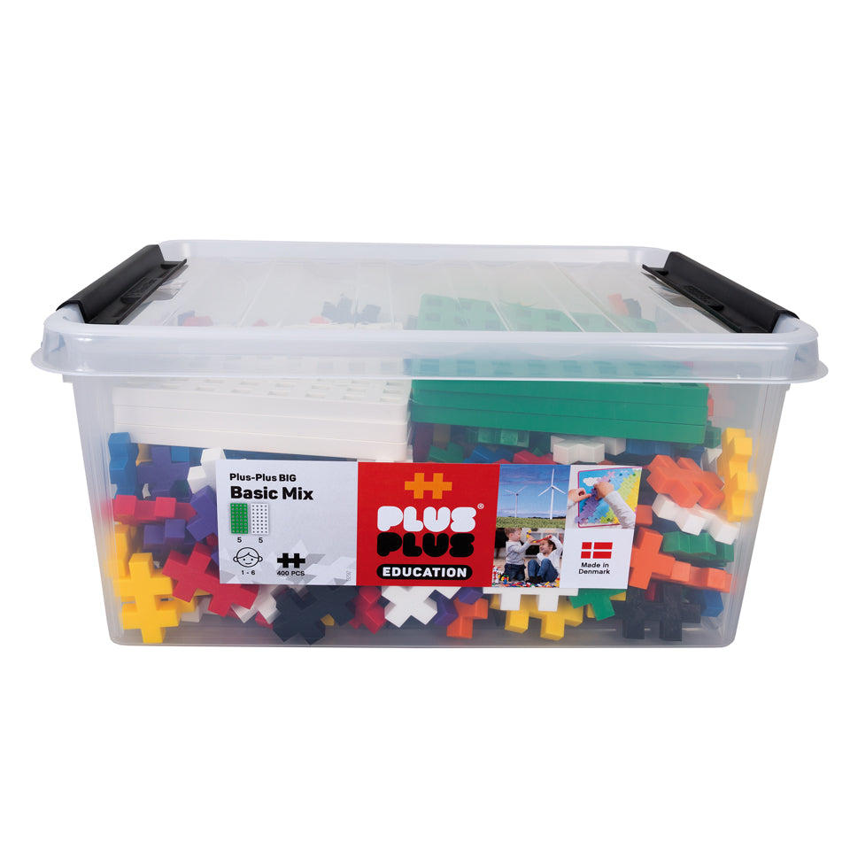 BIG 400 pc Tub w/ 10 baseplates