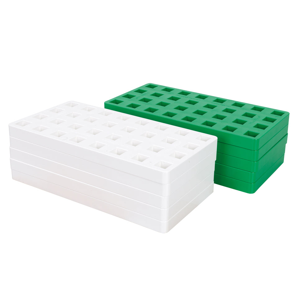BIG 10 Baseplates - Green & White