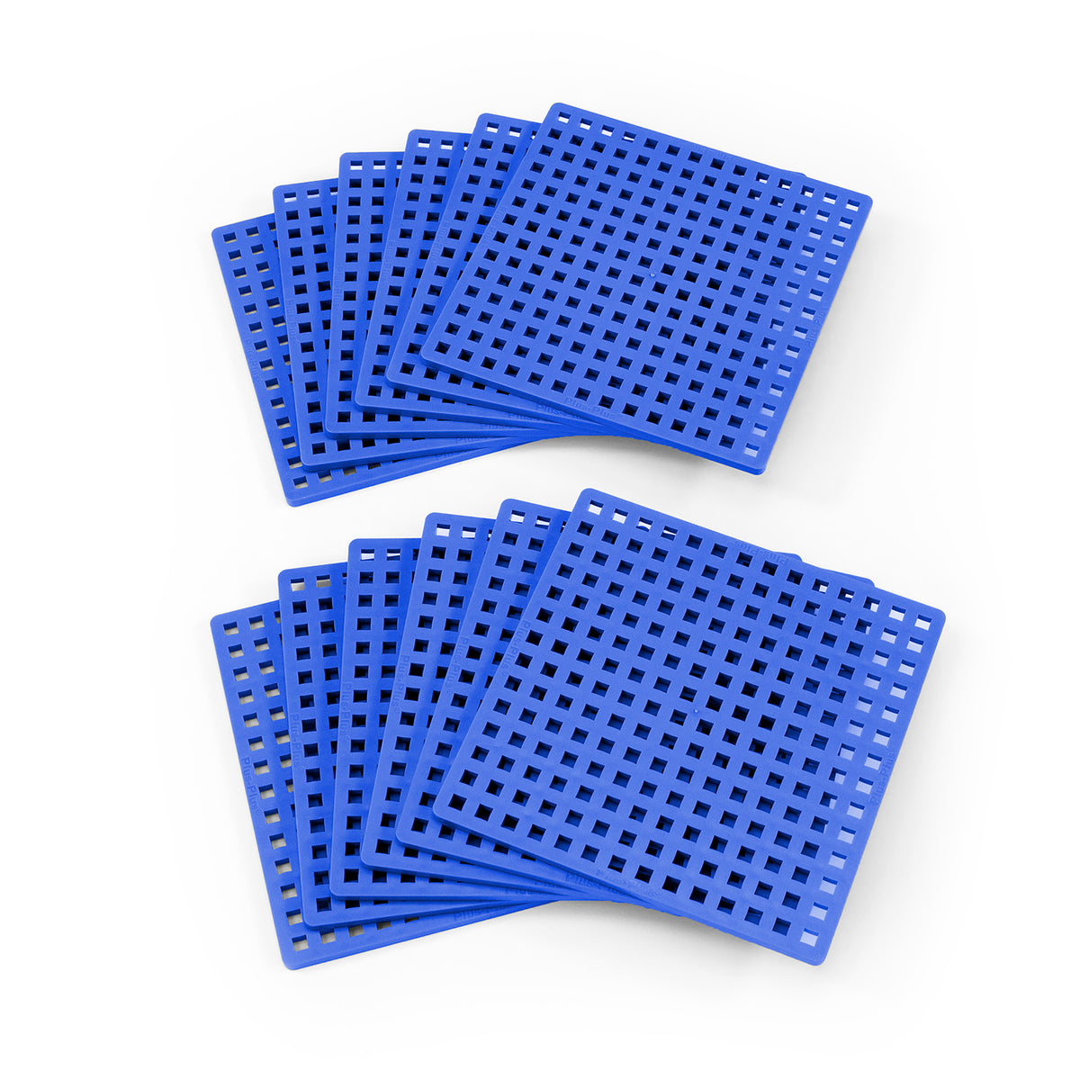 Baseplate 12-pack, Blue