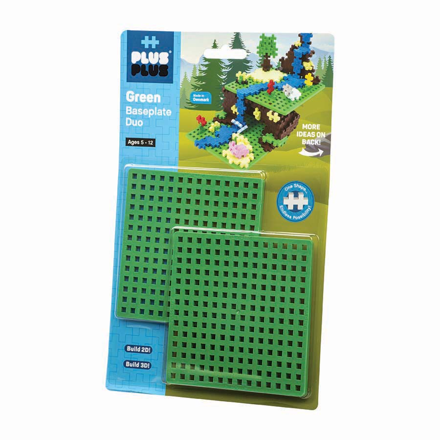 Bundle - 240 pc Basic Tube & Baseplate Duo-Green