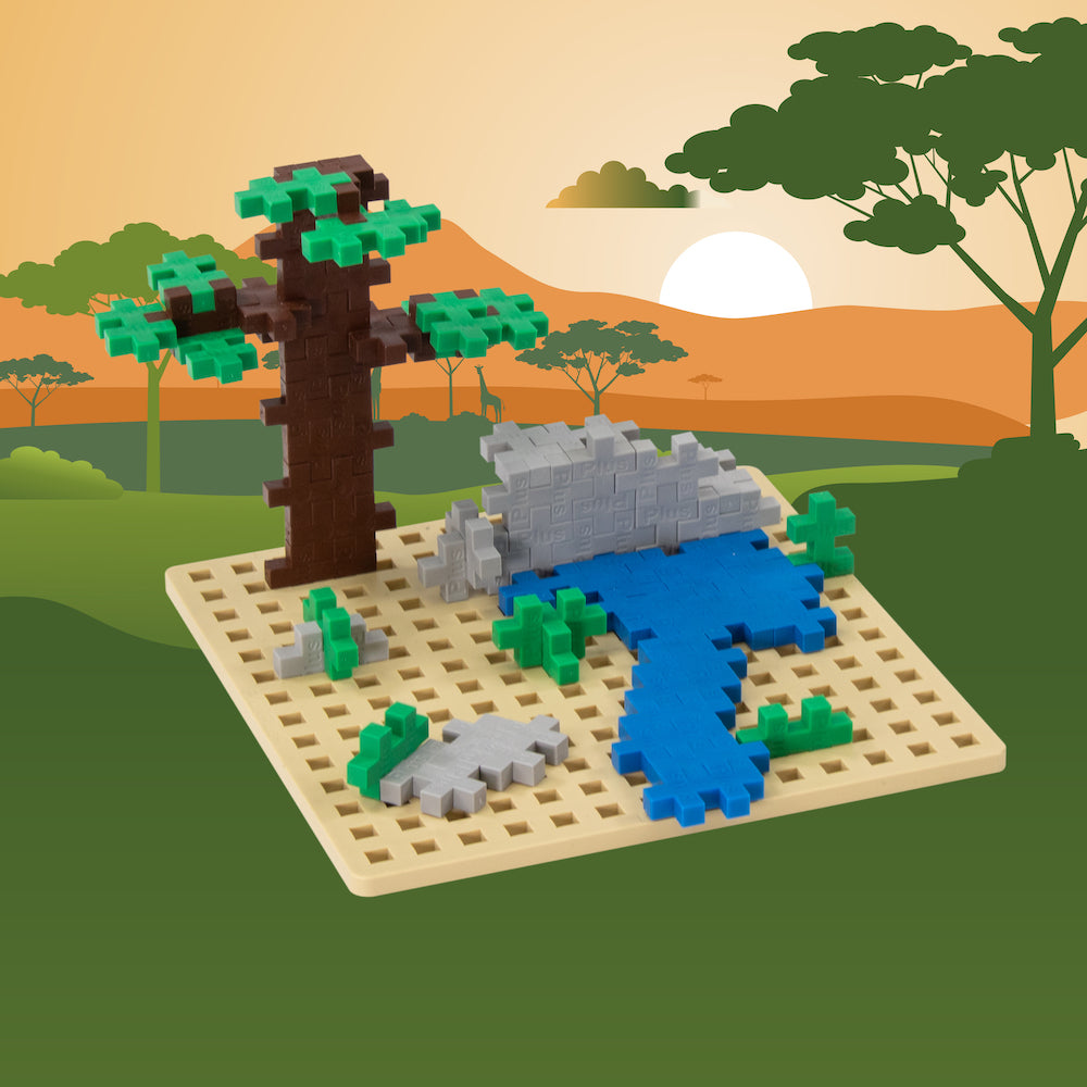 Baseplate Builder - Savanna