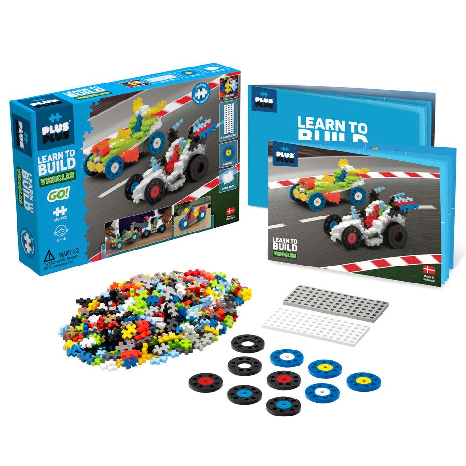 Learn to Build - GO! Vehicles