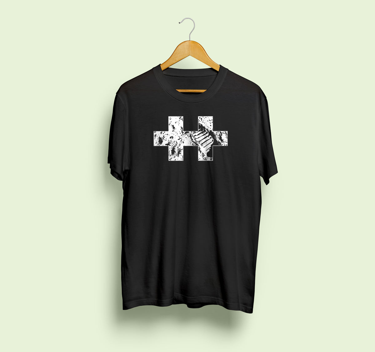 Plus-Plus Black Moon T-Shirt