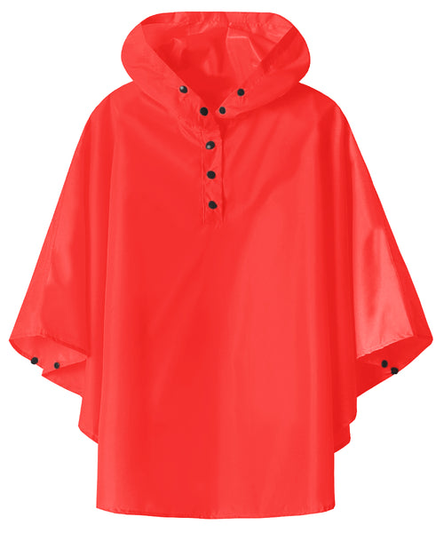 Kids Rain Poncho Coat