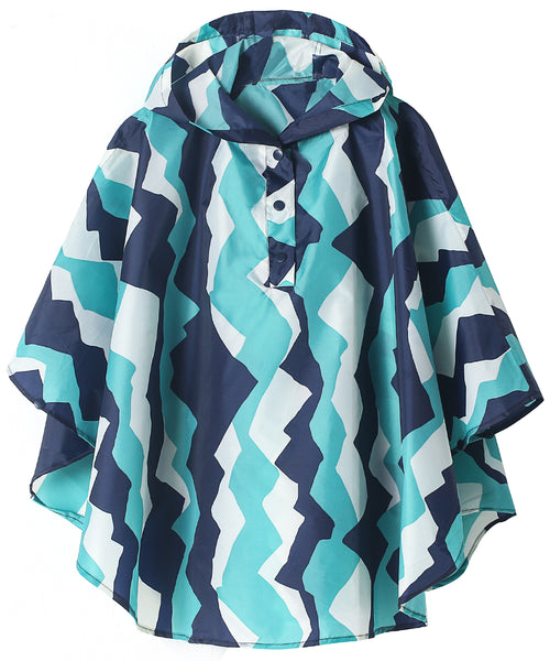 Boys Rain Poncho (Mountain)