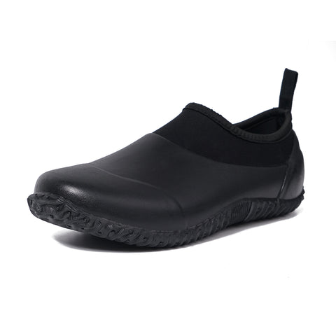 Unisex  Rubber Garden Shoes Black