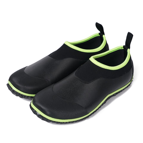 Unisex  Garden Shoes Green-Black