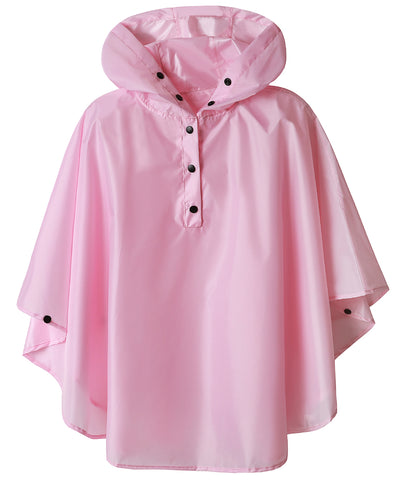 Girls Rain Coat (Solid Color)