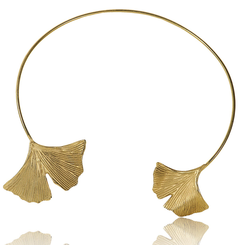 Collier Ginkgo Duo