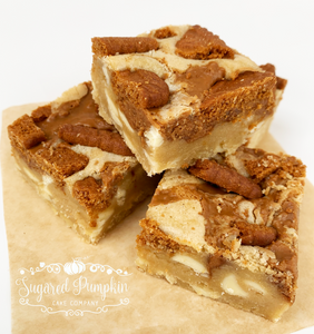 Lotus Biscoff Blondie