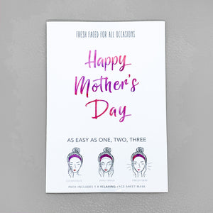 "Sheet Mask ""Happy Mothers Day"""