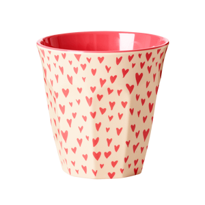 "Melamin Cup ""Small Hearts"""