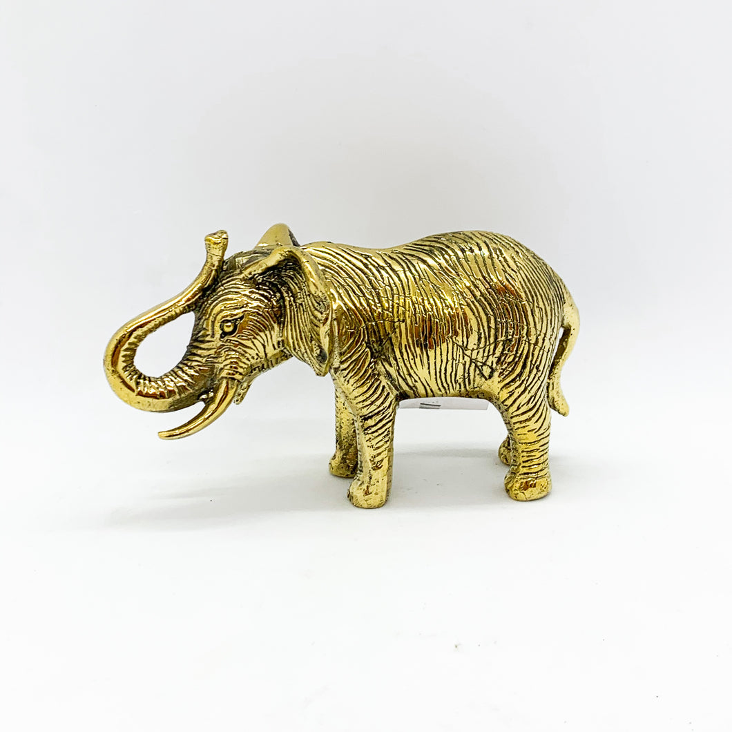 Figur Elefant gold