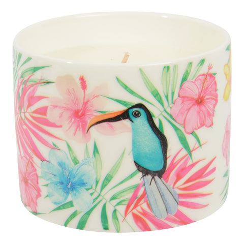 Tropical Scented Candle Passionfruit and Papaya