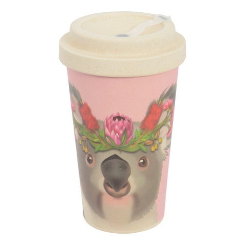Bamboo Travel Mug - Koala