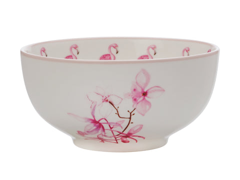 Pink Jungle Bowl 12.5cm Bowl Orchid