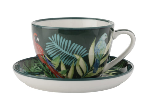 Tropical Nights Teacup & Saucer 330ML