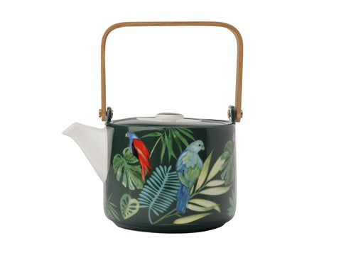 Tropical Nights Teapot Wood Handle 700ML