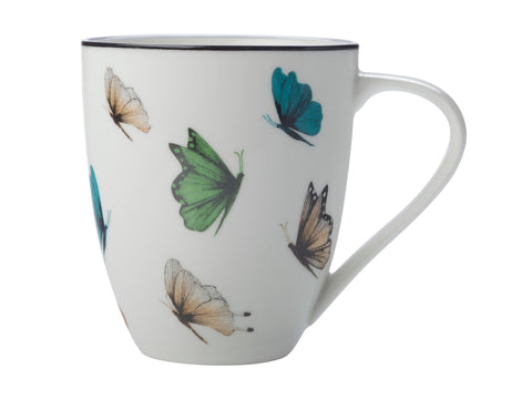 The Sanctuary Mug 500ML Butterflies
