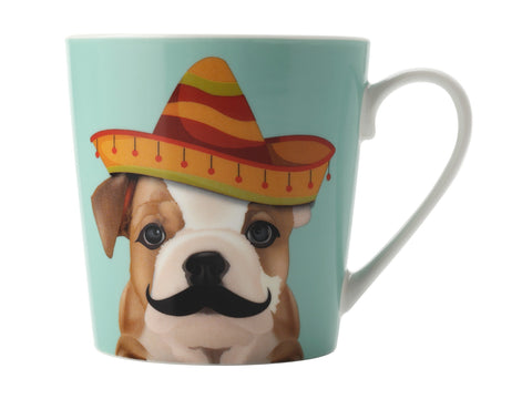 Mini Mob The Costume Party Mug Alfie Mint 350ML