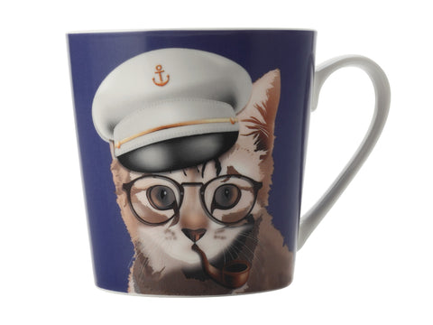 Mini Mob The Costume Party Mug Billy Navy 350ML