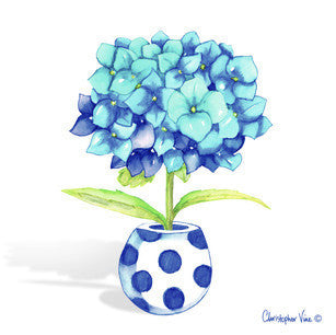 Blue-Hydrangea-Mini-Card