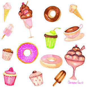 Donuts-Cupcakes-Mini-Card