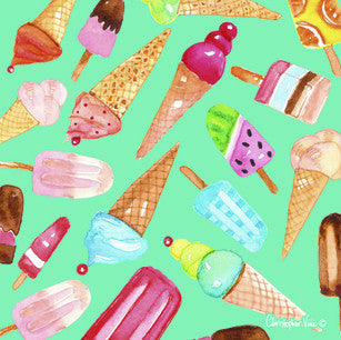Ice-Creams-Mini-Card