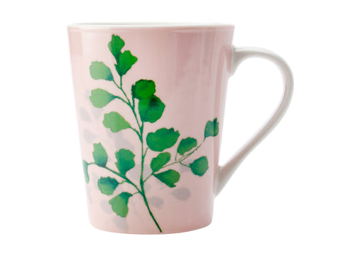 Green-House-Mug-Ferns-On-Pink