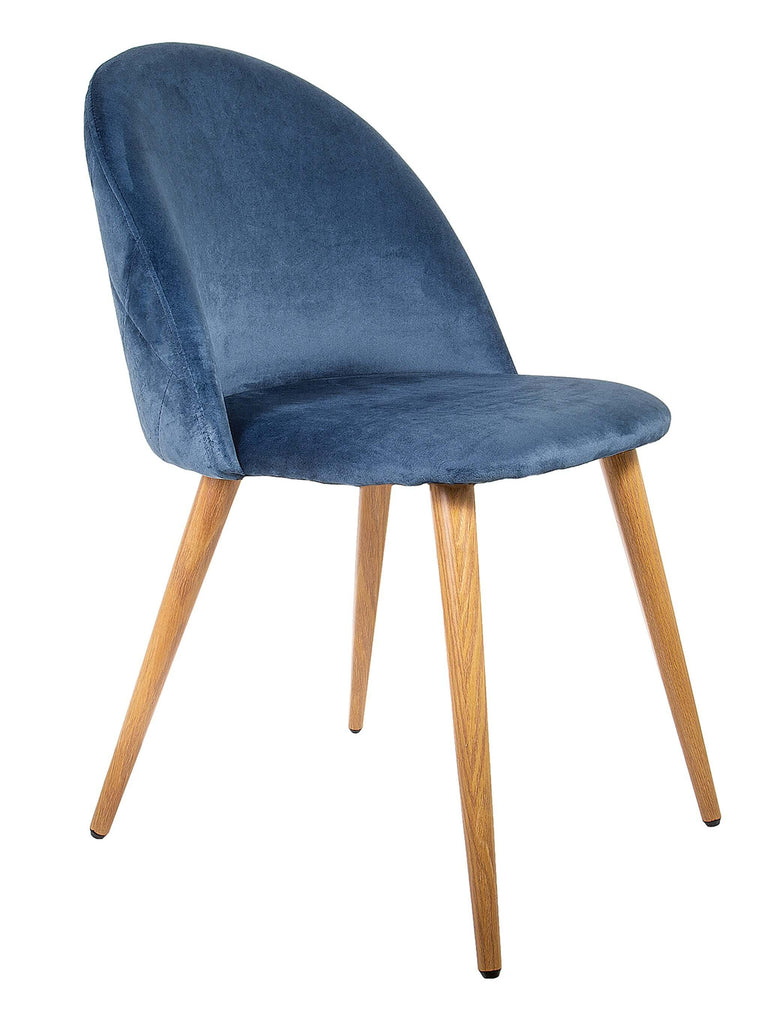 Diamond Velvet Chair - Shop Charlies Interiors