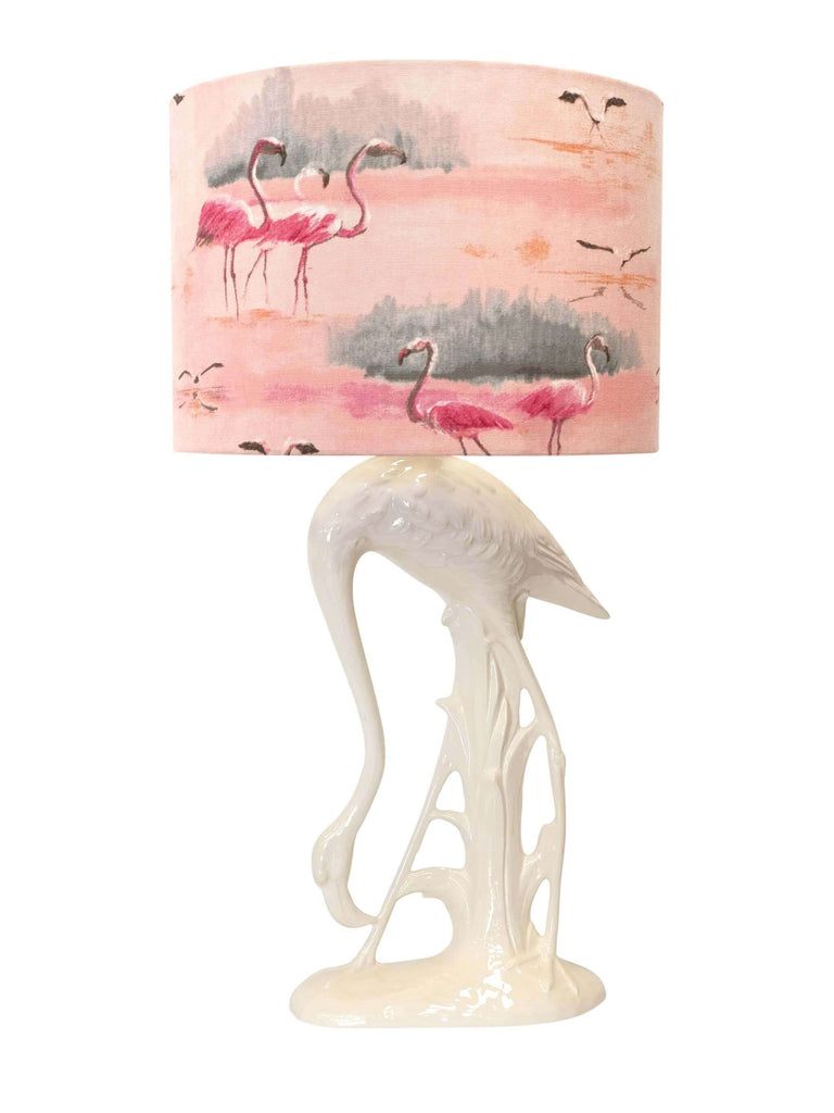 Flamingo Lamp Base White - Shop Charlies Interiors