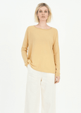 Cashmere Tie Back Pullover Turmeric by Cashmerism - Shop Charlies Interiors