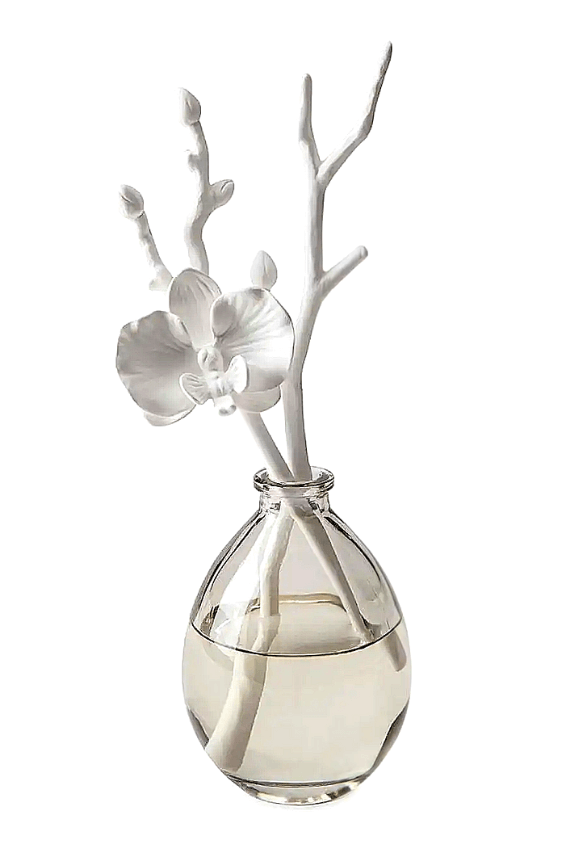 Butterfly Orchid Porcelain Diffuser