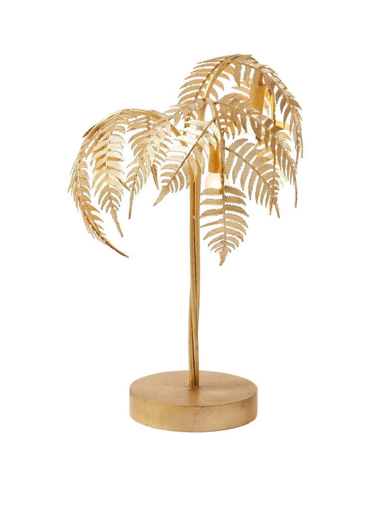 Palm Table Lamp - Shop Charlies Interiors