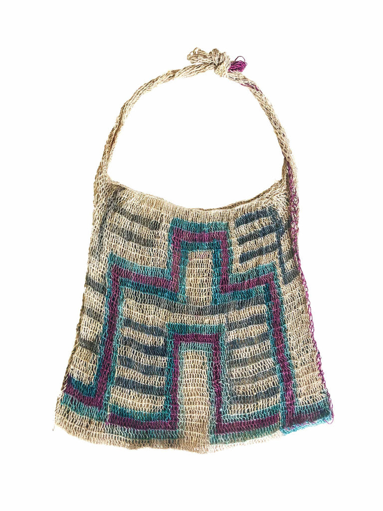 Geometric Woven Bag by Bek+MERI - Shop Charlies Interiors